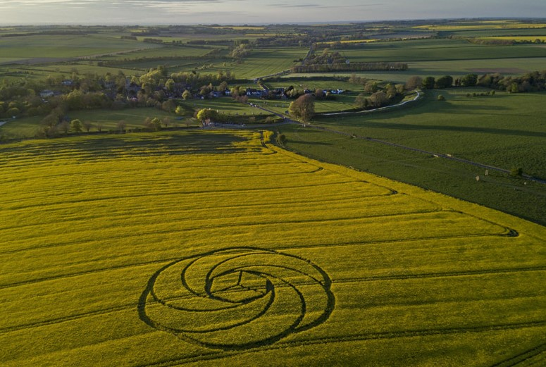 Waden Hill, Nr Avebury, Wiltshire. Reported 22nd April.