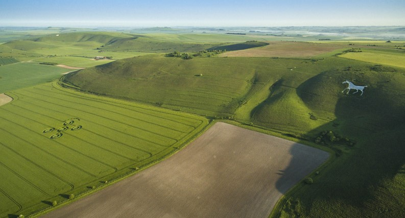 The White Horse, Nr Alton Barnes, Wiltshire. Reported 25th May.